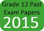 Grade 12 Past Exam Papers 2015