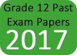 Grade 12 Past Exam Papers 2017