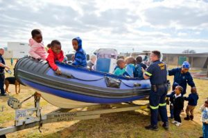Community policing boat patrol
